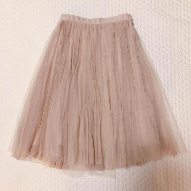 Lily Brown(リリーブラウン)のLilly Brown✴︎チュールプリーツスカート レディースのスカート(ひざ丈スカート)の商品写真