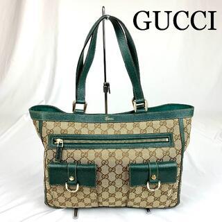 Gucci - GUCCI GG柄 キャンバス トートバッグ