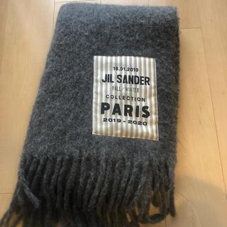 ジルサンダー(Jil Sander)のJIL SANDER 国内正規品 ビッグロゴストール マフラー ジルサンダー  (マフラー/ショール)