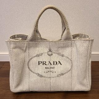 PRADA - プラダ カナパ ビアンコ M