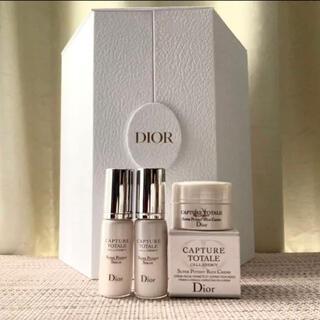 Dior - 【新品】Dior カプチュールトータルENGYセラム& 1月発売 リッチクリーム