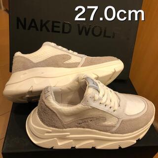 Balenciaga - 【新品未使用】27 NAKED WOLFE 厚底 スニーカー ネイキッドウルフ