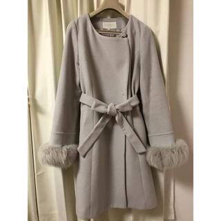 プロポーションボディドレッシング(PROPORTION BODY DRESSING)のアイスグレー コート(ロングコート)