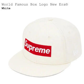 Supreme - Supreme World Famous Box Logo New Era 白