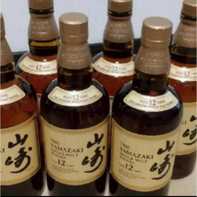 サントリー(サントリー)の(送料無料)山崎12年 6本セット 食品/飲料/酒の酒(ウイスキー)の商品写真