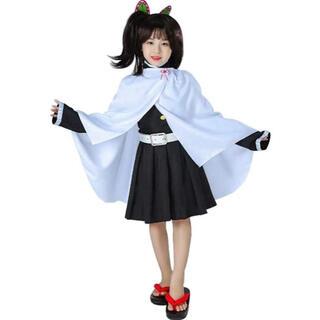 鬼滅の刃 栗花落 カナヲ 子供用 110-140 着物 キモノセット(衣装一式)