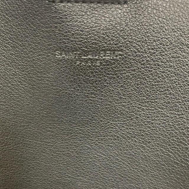 Saint Laurent(サンローラン)のYSLバック(ポーチ付き)Black レディースのバッグ(トートバッグ)の商品写真
