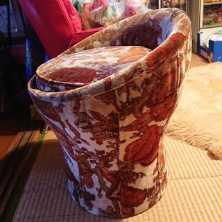 昭和レトロ ドレッサー用スツール  椅子(スツール)