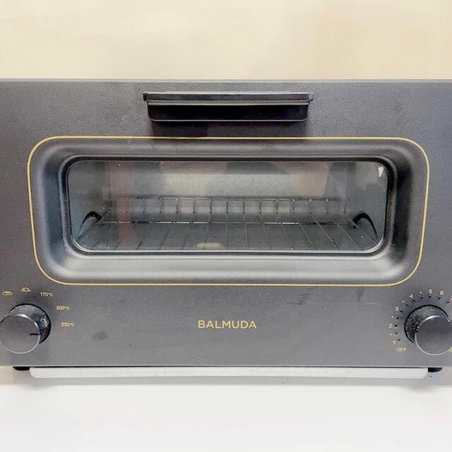 BALMUDA(バルミューダ)のBALMUDA The toaster K01Eシリーズ BLACK スマホ/家電/カメラの調理家電(電子レンジ)の商品写真
