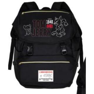 ★新品★ トムとジェリー BIGサイズ リュック 黒 トムジェリ バッグ(リュック/バックパック)