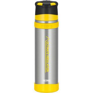 サーモス(THERMOS)のサーモス 山専ステンレスボトル 0.9L イエロー(登山用品)