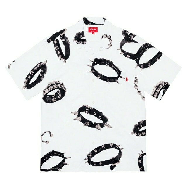 Supreme(シュプリーム)のStudded Collars Rayon S/S Shirt メンズのトップス(シャツ)の商品写真