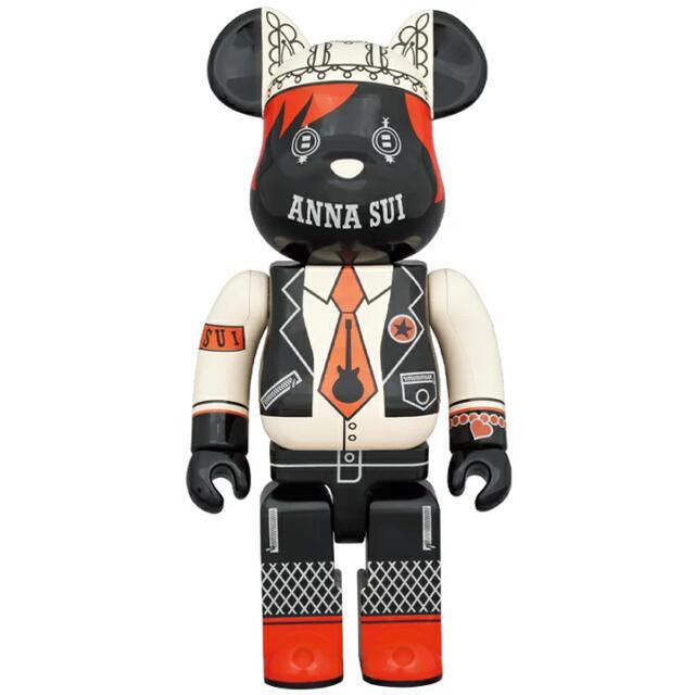 ANNA SUI(アナスイ)のbe@rbrick ANNA SUI RED&BEIGE 1000% アナスイ エンタメ/ホビーのフィギュア(その他)の商品写真