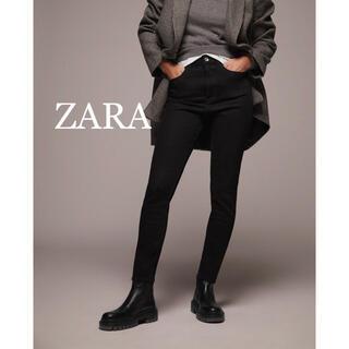 ZARA - 新品未使用★ZARA★ブラックデニムパンツ、スキニーデニム、ハイウエスト