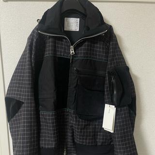 sacai - Sacai 19aw 異素材 ハイブリッド ブルゾン 1 S ジャケット
