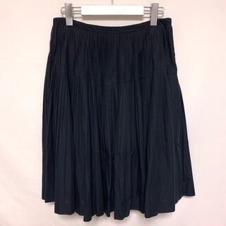ビューティフルピープル(beautiful people)のビューティフルピープル フレア スカート ショート コットン 日本製(ひざ丈スカート)