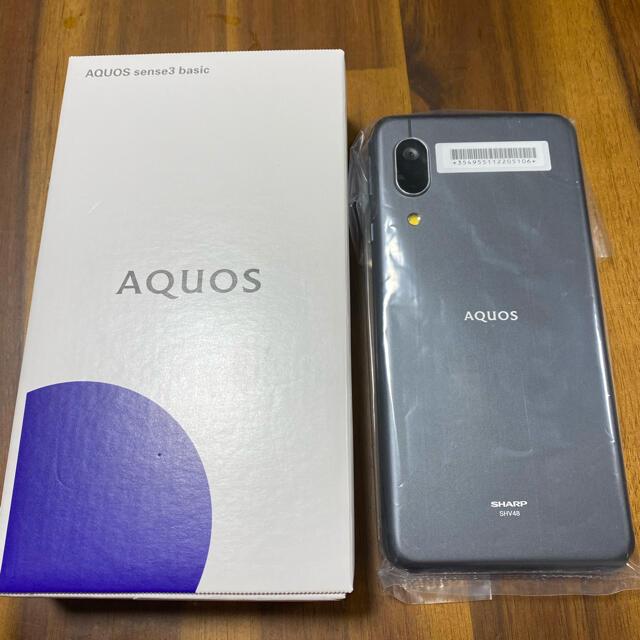 AQUOS(アクオス)のAQUOS sense3 basic  スマホ/家電/カメラのスマートフォン/携帯電話(スマートフォン本体)の商品写真