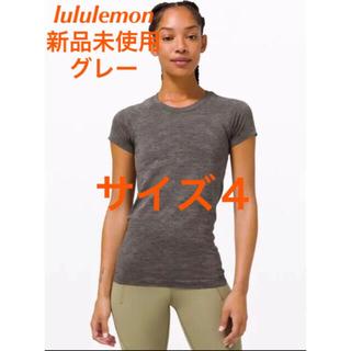 lululemon - 値下げlululemon Swiftly Tech 半袖 サイズ4グレー(59)