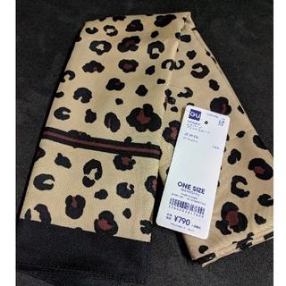 ジーユー(GU)の未使用◇GU レオパードプリントスカーフ(バンダナ/スカーフ)