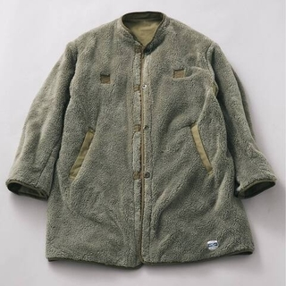 JOURNAL STANDARD - relume army twill 2way ライナー コート カーキ L