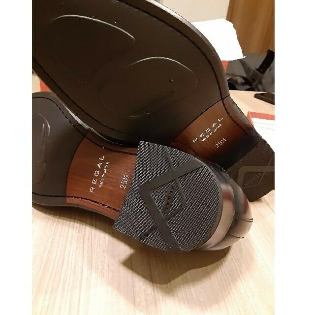REGAL(リーガル)の【新品未使用】REGAL 25.5  紳士革靴 26FR メンズの靴/シューズ(ドレス/ビジネス)の商品写真