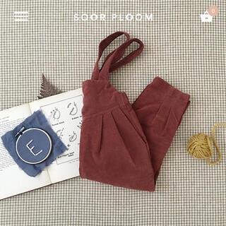 Caramel baby&child  - 新品未使用 soor ploom Imogen Overall Loam 6Y