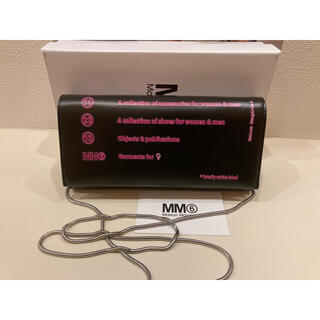 エムエムシックス(MM6)のMM6 MAISON MARGIELA チェーンウォレット 長財布(財布)