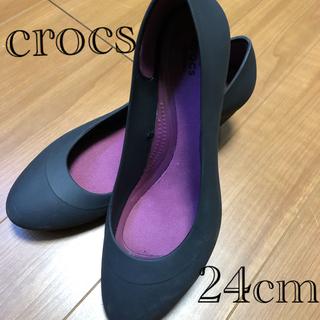 crocs - crocs ローヒールパンプス