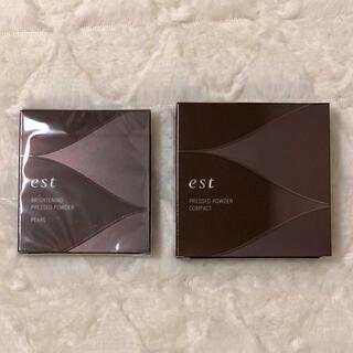 est - 【新品ケース付き】est エスト ブライトニングプレストパウダー 02 パール