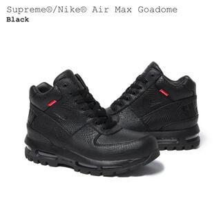 Supreme - SUPREME NIKE AIR MAX GOADOME 黒 28.5 未使用品