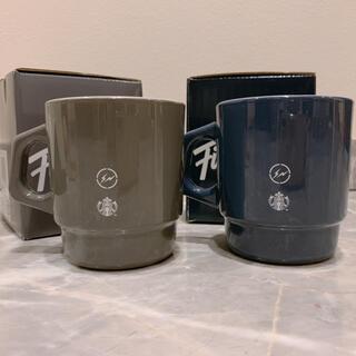 スターバックスコーヒー(Starbucks Coffee)のfragment × Fire-King × starbucks マグカップ2個(グラス/カップ)