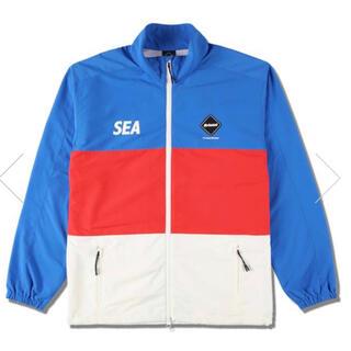 エフシーアールビー(F.C.R.B.)のFCRB wind and sea jacket L XL(ナイロンジャケット)