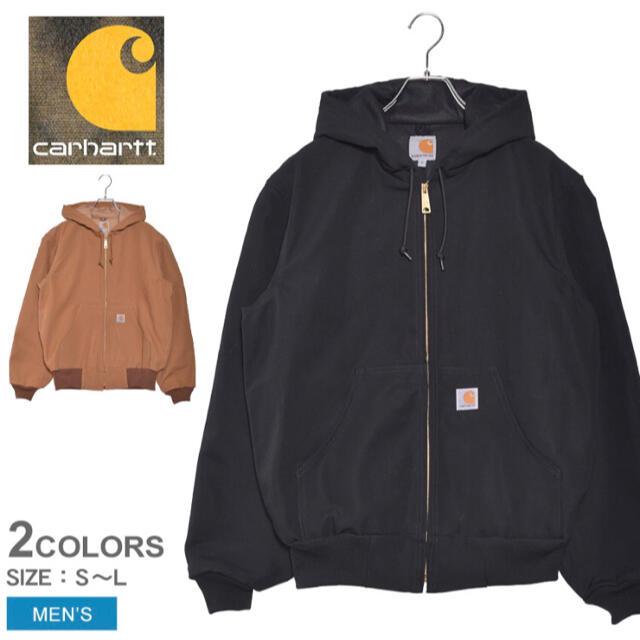 carhartt(カーハート)の新品未使用品 カーハート アクティブジャケット J131 ブラック Lサイズ メンズのジャケット/アウター(その他)の商品写真