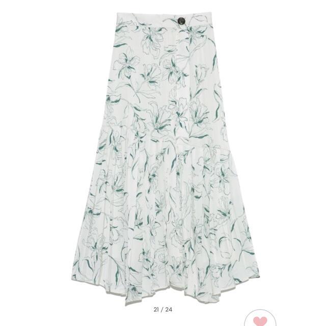 snidel(スナイデル)のsnidel プリントプリーツスカート レディースのスカート(ロングスカート)の商品写真