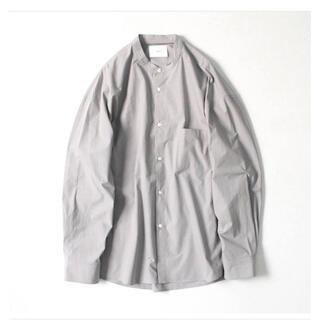 COMOLI - stein バンドカラーシャツ スタンドカラー オーバーサイズ