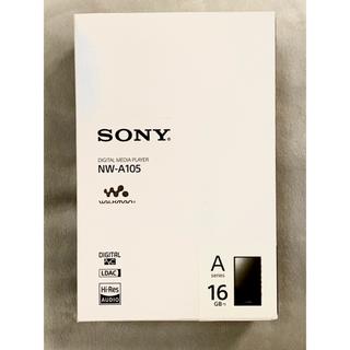 ウォークマン(WALKMAN)のソニー ウォークマン A105 Walkman sony おまけ付(ポータブルプレーヤー)