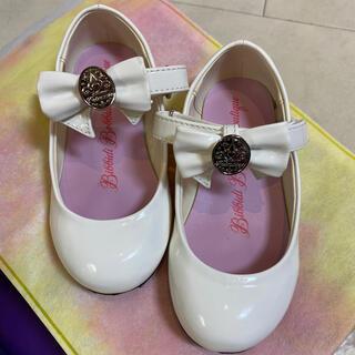 ディズニー(Disney)の専用 クロネコヤマトから発送 ビビデバビデブティック 靴 18センチ 白 (フォーマルシューズ)
