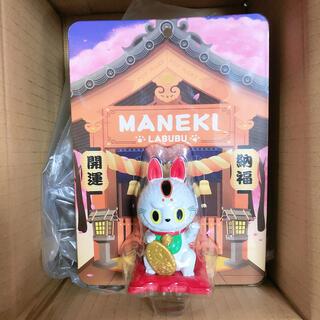 POP MART LABUBU招き猫 ポップマート ラブブ ダルマ 達磨(キャラクターグッズ)