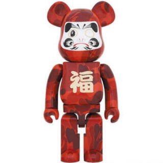 MEDICOM TOY - A BATHING APE & BE@RBRICK 達磨 1000%