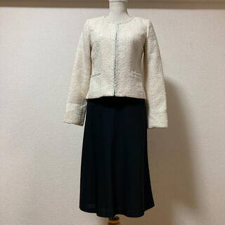 ミッシェルクラン(MICHEL KLEIN)の美品ミッシェルクラン×ナチュラルビューティベーシック スカートスーツ(スーツ)