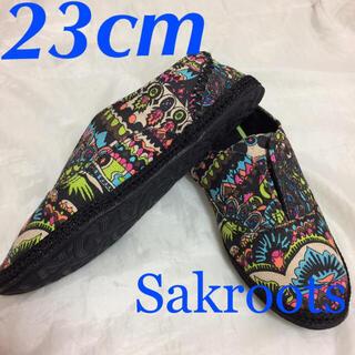 Roxy - 新品USA購入☆Sakrootsスリッポン靴サンダルサックルーツ7(23cm)