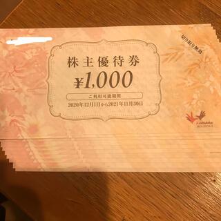 コシダカ 株主優待 10,000円分 まねきねこ(その他)