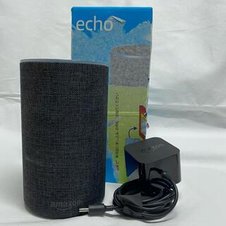 エコー(ECHO)のAmazon Echo 第2世代 チャコール(スピーカー)