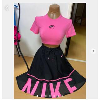 ナイキ(NIKE)のアメリカで購入バービーピンク 美ライン Tシャツ(Tシャツ(半袖/袖なし))