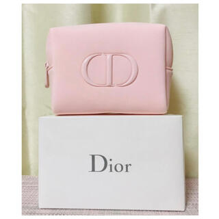Dior - 【新品未使用】Dior ディオール 2021 ピンクポーチ