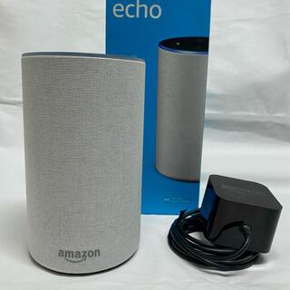 エコー(ECHO)のAmazon Echo 第2世代 サンドストーン(スピーカー)