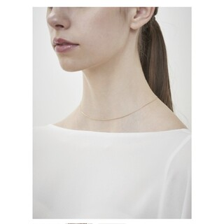 DEUXIEME CLASSE - GIGI / Gold line necklace / 380mm