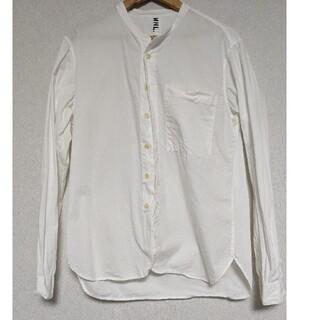 マーガレットハウエル(MARGARET HOWELL)のMHL バンドカラー ポプリンシャツ(シャツ)