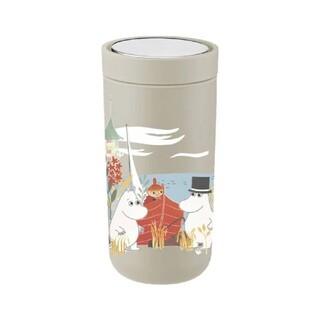 【新品】 ステルトン ムーミン コラボ サーモカップ サンド 400ml(タンブラー)