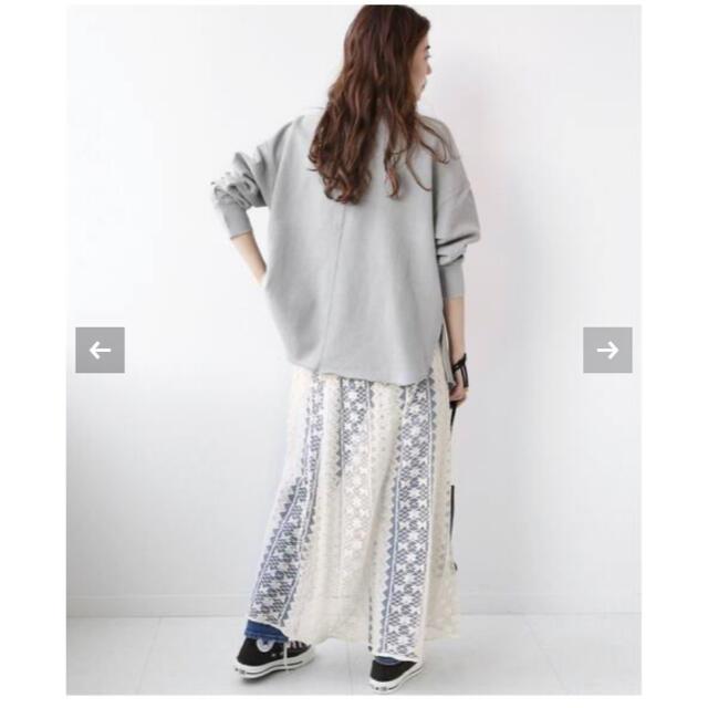 JOURNAL STANDARD(ジャーナルスタンダード)のJOURNAL STANDARD relume レースレイヤードスカート レディースのスカート(ロングスカート)の商品写真
